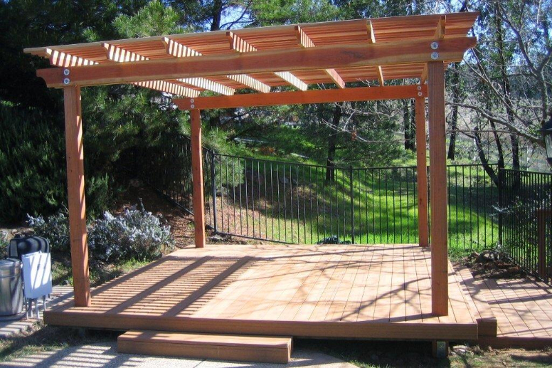 pergolas gazebos deome2 builders. Black Bedroom Furniture Sets. Home Design Ideas