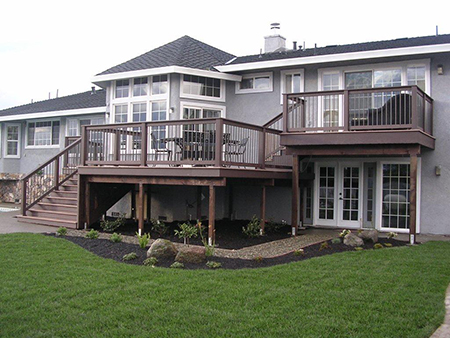 california deck building services