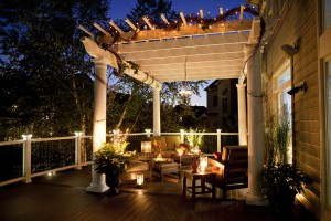 Trex Deck Builder Sacramento Lighting